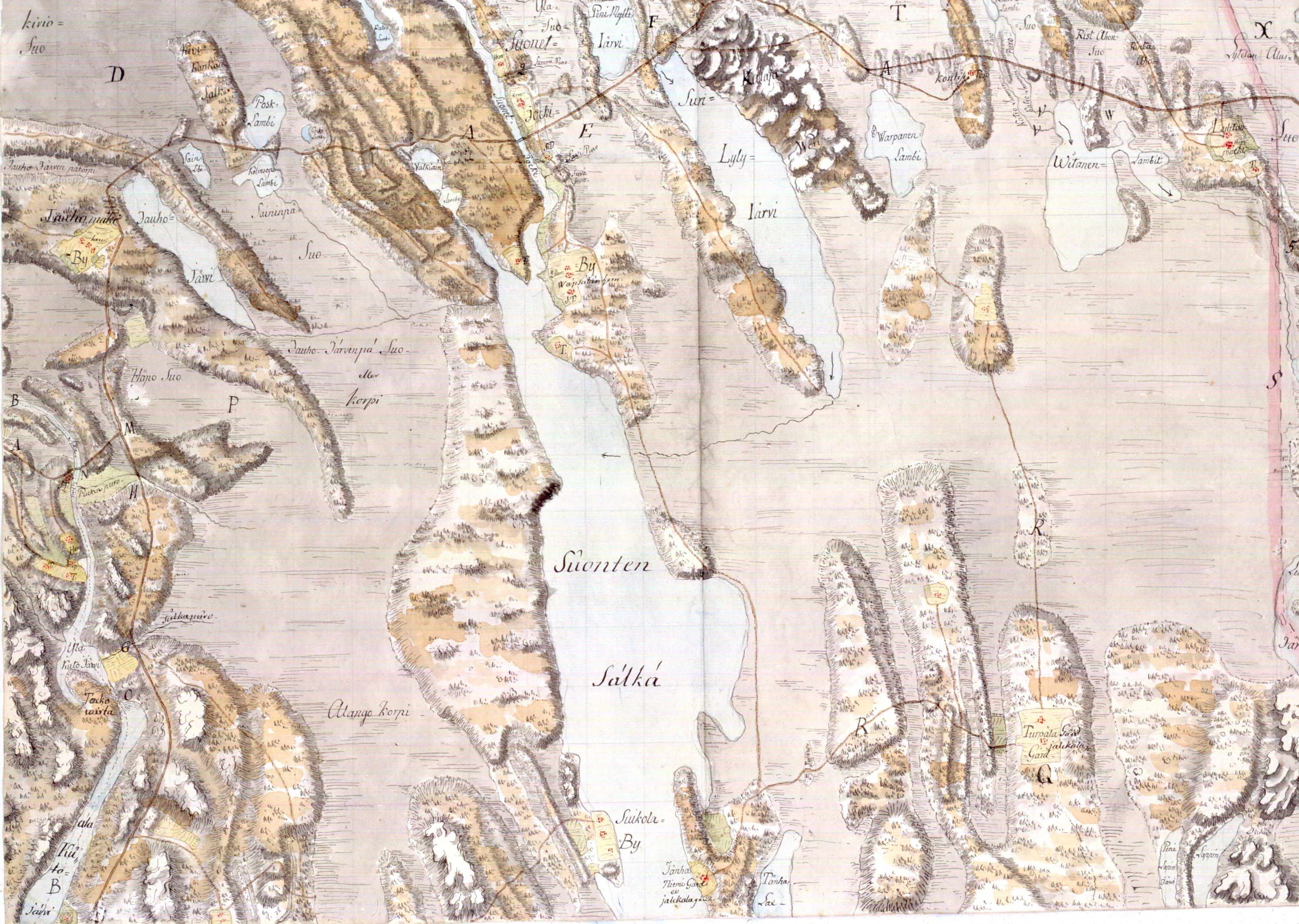 Suonenjoki Kartta