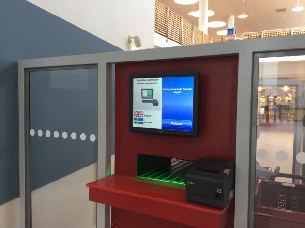 palautusautomaatti